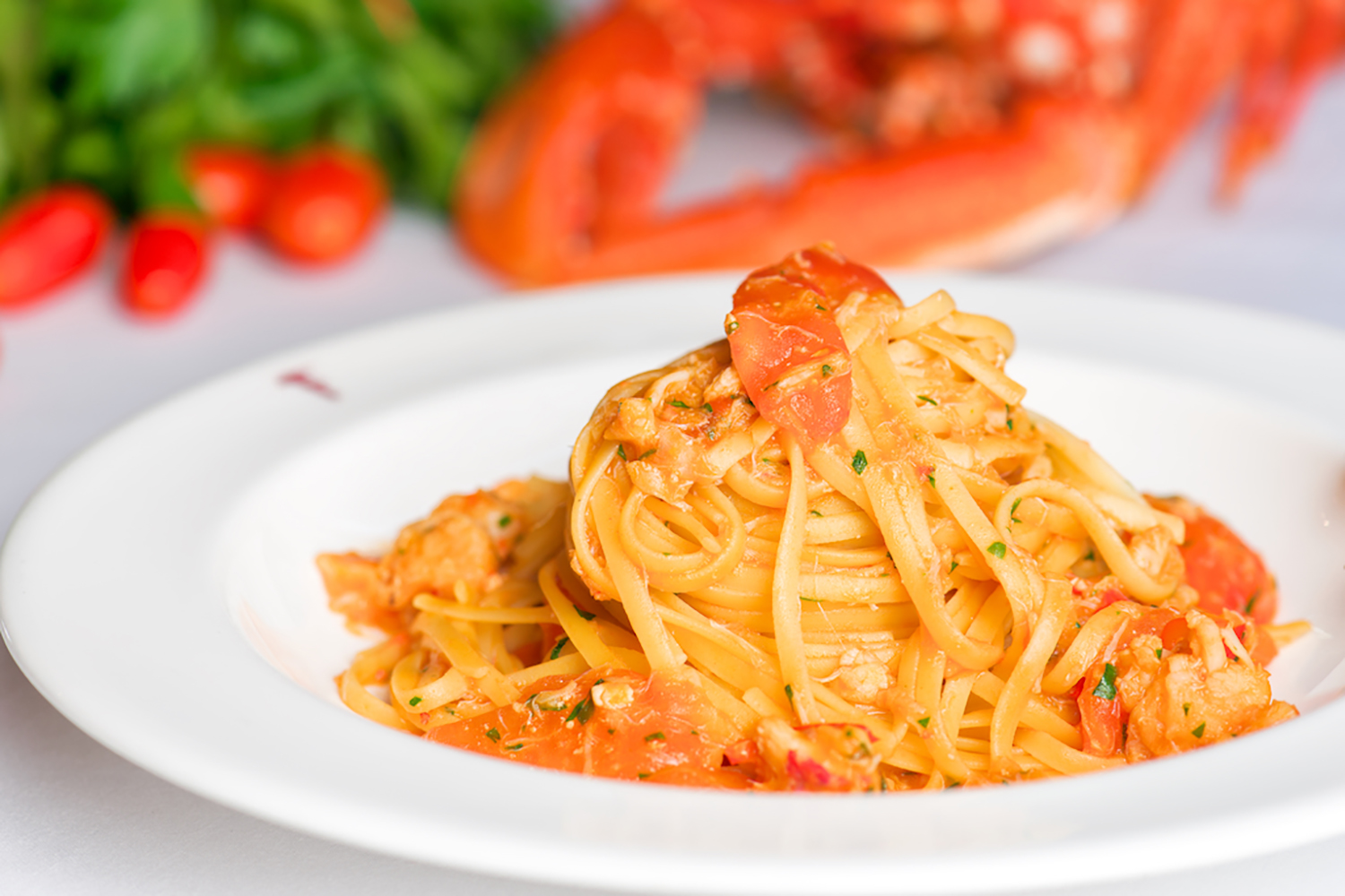 Franco's Lobster Linguini
